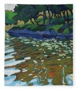Lyndhurst Lake Fleece Blanket