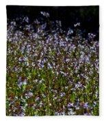 Lyre Leaf Sage Fleece Blanket