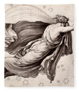 Lyre Of Orpheus Fleece Blanket