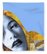 M. Butterfly Fleece Blanket