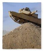 M1 Abrams Fleece Blanket