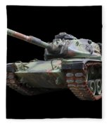 M48a2 Tank Fleece Blanket