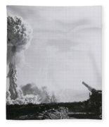 M65 Atomic Cannon Fleece Blanket