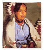 Macedonia 1917 Fleece Blanket