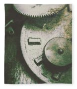 Machinery From The Industrial Age Fleece Blanket