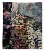 Machu Picchu Ruins- Peru Fleece Blanket