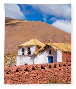 Machuca Church Fleece Blanket