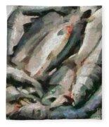 Mackerel Fleece Blanket