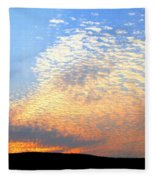 Mackerel Sky Fleece Blanket