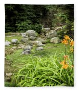 Mackinaw City Park Fleece Blanket