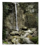 Mackinaw City Park Waterfalls 1 Fleece Blanket