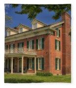 Maclay House Tipton Mo Built In 1858 Dsc01873 Fleece Blanket
