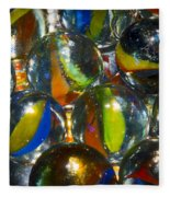 Macro Marbles Fleece Blanket