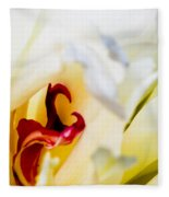 Macro Peonie Fleece Blanket