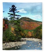 Mad River By Welch And Dickey  Fleece Blanket