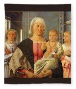 Mad-senigallia Piero Della Francesca Fleece Blanket