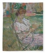 Madame Misia Natanson Fleece Blanket