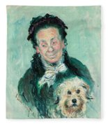 Madame Paul Fleece Blanket