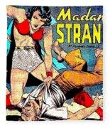 Madame Strange Comic Super Hero Fleece Blanket