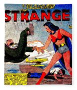 Madame Strange Female Comic Super Hero Fleece Blanket