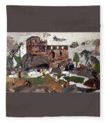 Madan Mahal Fleece Blanket