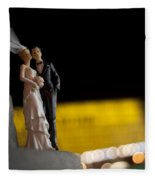 Made In China Bride And Groom Fleece Blanket