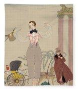 Mademoiselle De Maupin Fleece Blanket