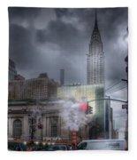 Madison Avenue Fleece Blanket