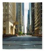 Madison Street Bridge - 4 Fleece Blanket