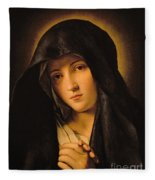 Madonna Fleece Blanket