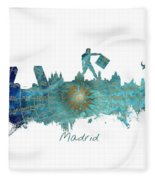 Madrid  Fleece Blanket