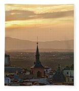Madrid Mountain View Fleece Blanket