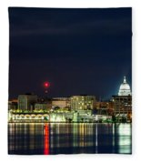 Madtown Skyline Fleece Blanket