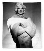 Mae West Fleece Blanket