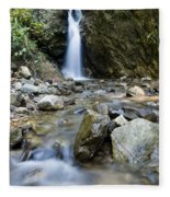 Maekutlong Waterfall Fleece Blanket