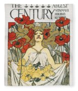 Magazine: Century, 1896 Fleece Blanket