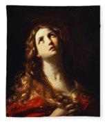 Magdalene In Penitence 1635 Fleece Blanket