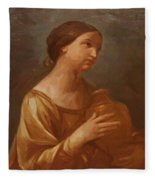 Magdalene With The Jar Of Ointment Fleece Blanket