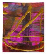 Magenta Joy Sails Fleece Blanket
