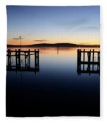 Magic At Bodega Bay California Fleece Blanket