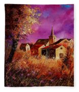 Magic Autumn  Fleece Blanket