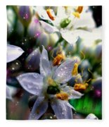 Magic Blossoms Fleece Blanket