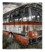 Magic Bus Fleece Blanket