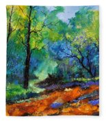 Magic Forest 79 Fleece Blanket
