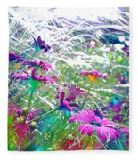 Magic Garden Fleece Blanket