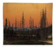 Magic Morning Fleece Blanket
