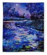 Magic Pond Fleece Blanket