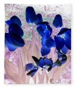 Magical Flower I I Fleece Blanket
