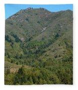 Magical Mountain Tamalpais Fleece Blanket