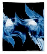 Magical Orchids Fleece Blanket